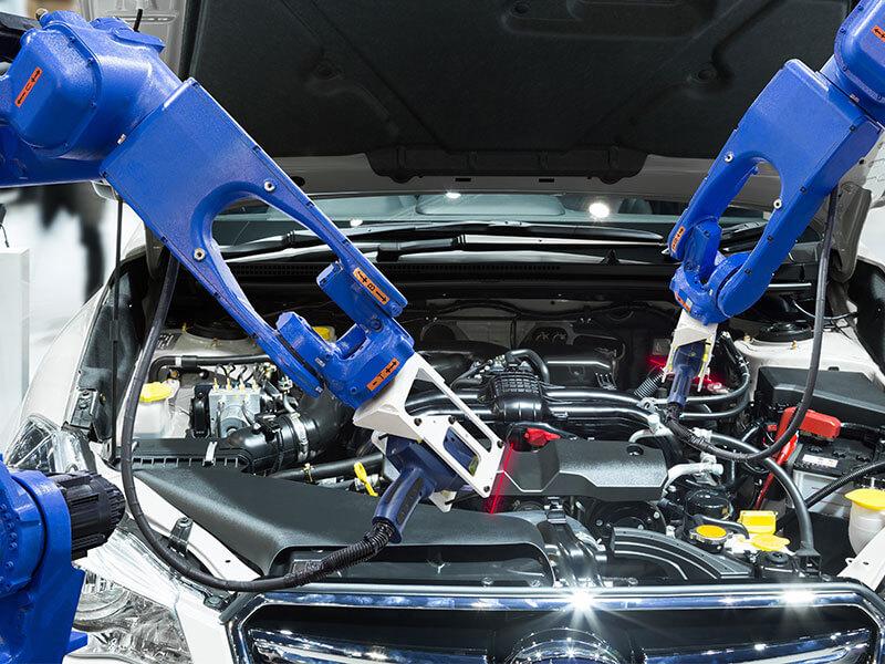 Automobil- und Zulieferindustrie