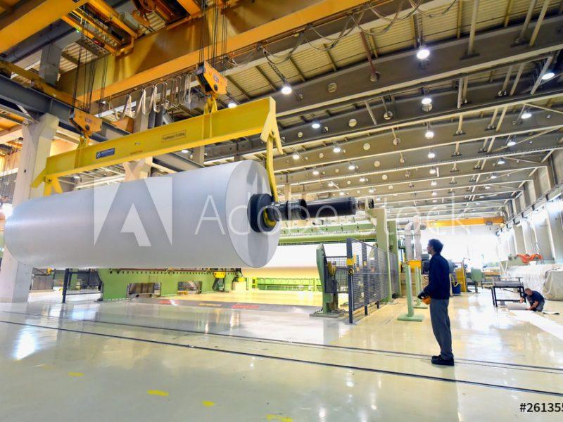 Zellstoff- und Papierindustrie